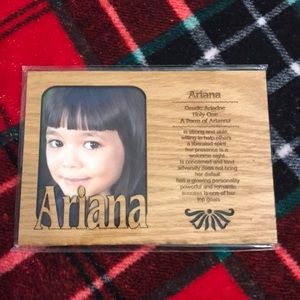 Brand New Ariana Wooden Frame